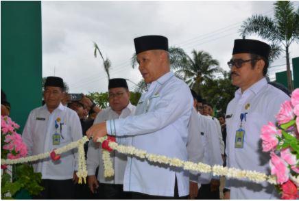 Ka. Kanwil Kemenag Kalsel H Noor Fahmi Meresmikan Gedung Laboratorium Keagamaan